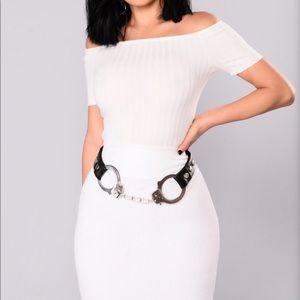 Handcuff belt